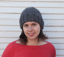 Load image into Gallery viewer, Pattern: Knit beanies 3 ways - digital download