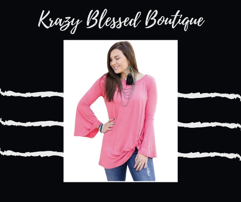 Knot for Long Flare Sleeve