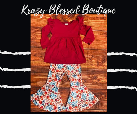Fall Maroon Bell Outfit