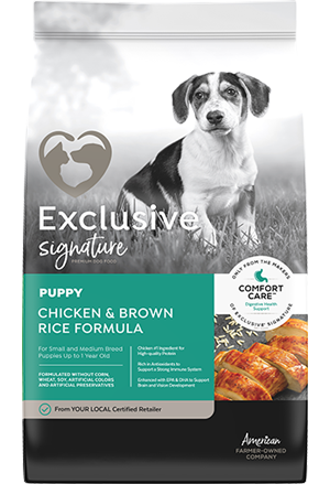 Exclusive Signature PUPPY Chicken & Brown Rice Formula