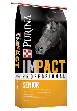 Purina® Impact® Professional Senior Horse Feed