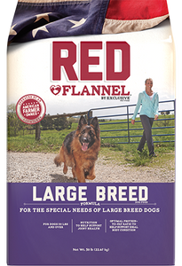 Exclusive Red Flannel LARGE BREED