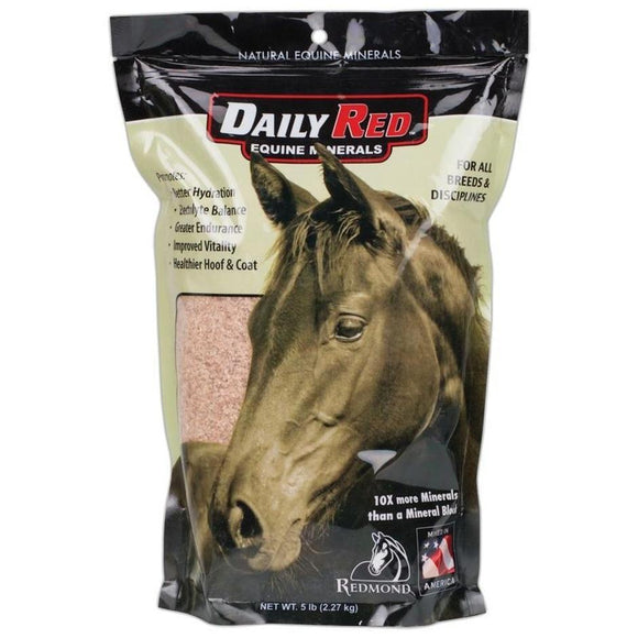 REDMOND ROCK CRUSHED SALT FOR HORSES