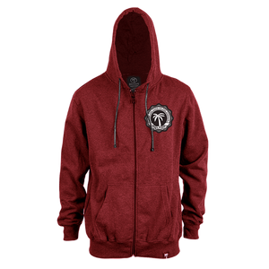 Crest Hit Zip Up Hoodie - BLVD Supply inc