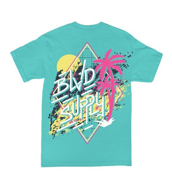 Blvd Supply Party All Day Tee - BLVD Supply inc