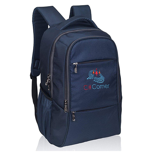 Laptop Backpack - Blue