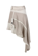 Load image into Gallery viewer, Recomposed Linen Jacket Skirt