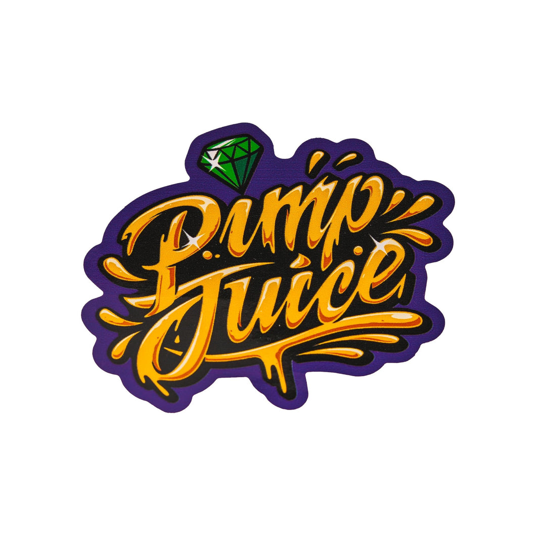 Pimp Juice Modern Sticker