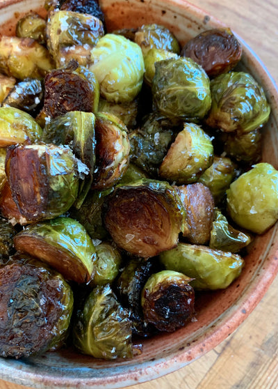 Fig Balsamic Brussels Sprouts