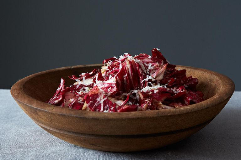 Radicchio Salad with Manchego