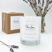 Load image into Gallery viewer, 30Cl Candle - Violet and Sweet Pea