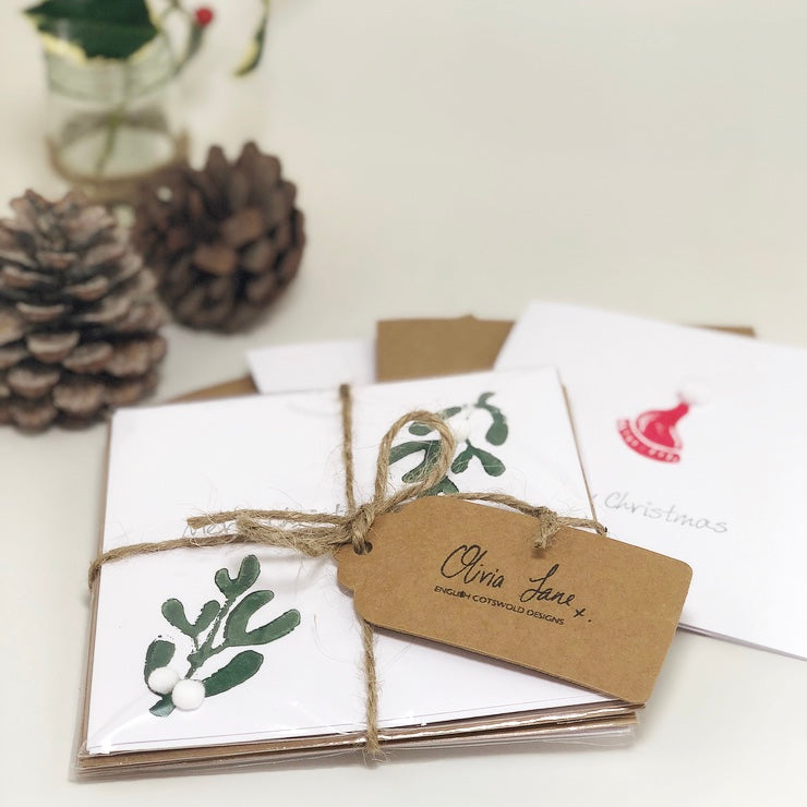 Pack of 5 Assorted Christmas Cards