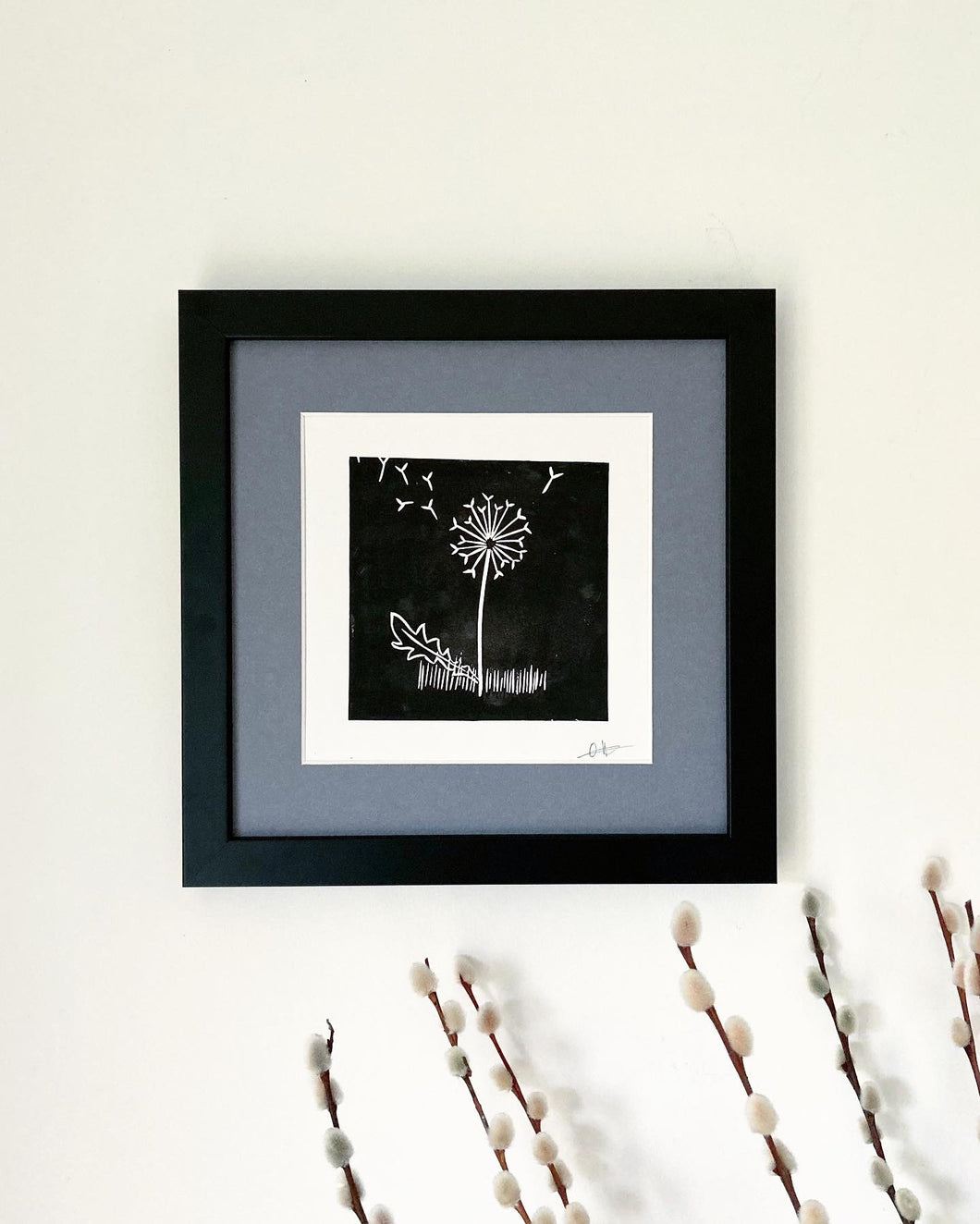 'Dandelion Wishes' Original Print