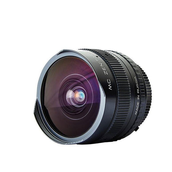 Zenitar f/2.8/16mm Fish Eye Canon EF mount