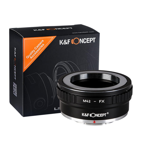 K&F Adapter, M42 Objektive for Fuji X-Mount FX Fuji X