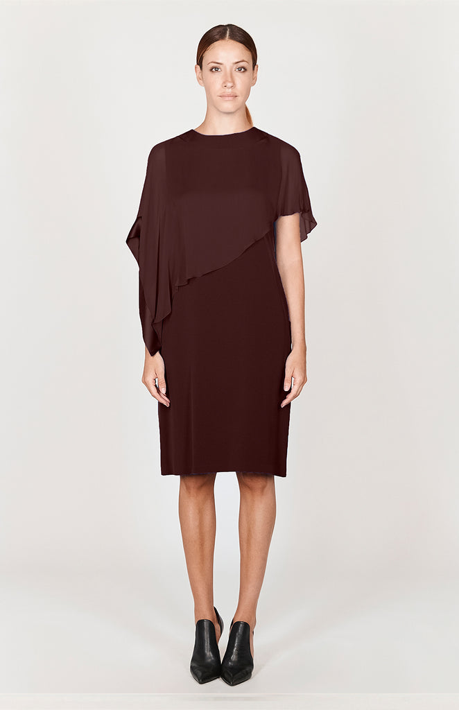 Side Drape Shawl Dress - CAPSULE 3