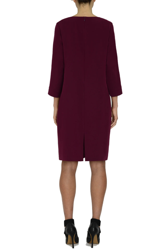 A-Line Dress w/ Neck Tab