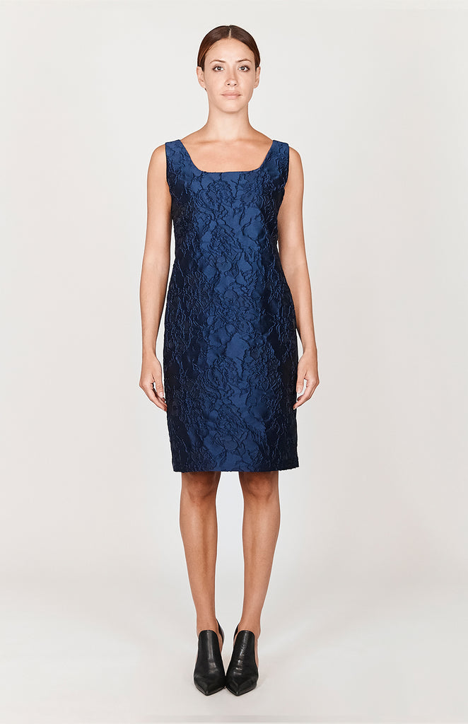 Texture Jacquard Shift Dress - CAPSULE 2