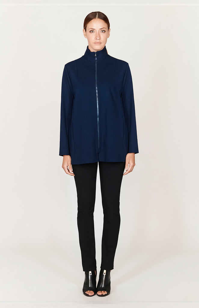 Ponte High Neck Zip-Up - CAPSULE 1