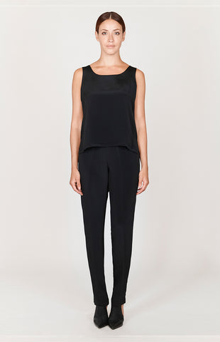 Essential LX Narrow Leg Pant w/ Flat Front, Back Elastic, & Slimmest Fit - BASICS / ESSENTIALS