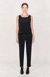 Essential LX Narrow Leg Pant w/ Flat Front & Back Elastic - BASICS / ESSENTIALS