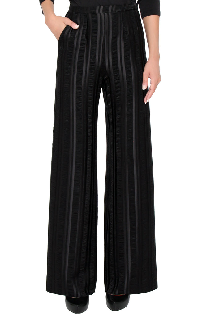 Stretch Textured Stripe Pant