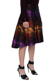 Ombre Cloud Jacquard Skirt