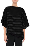 Stretch Textured Stripe Tunic