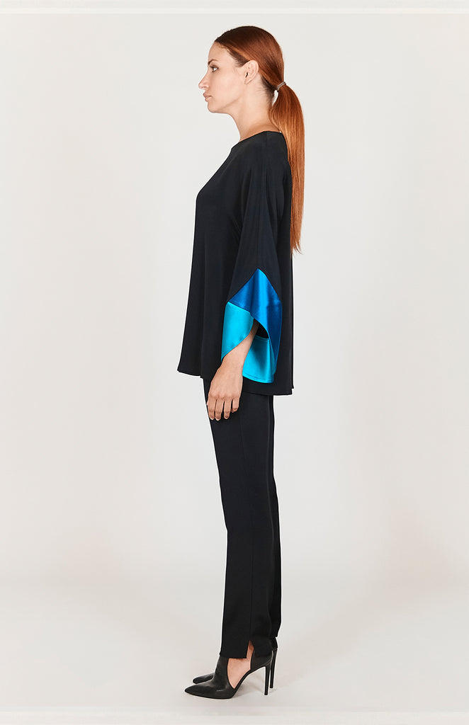 Tunic w/ Contrast Color Block Sleeves - CAPSULE 3