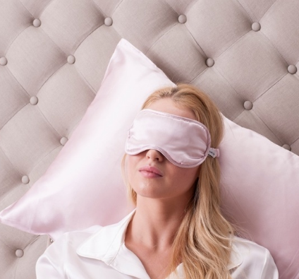 100% Mulberry Silk Eye Mask