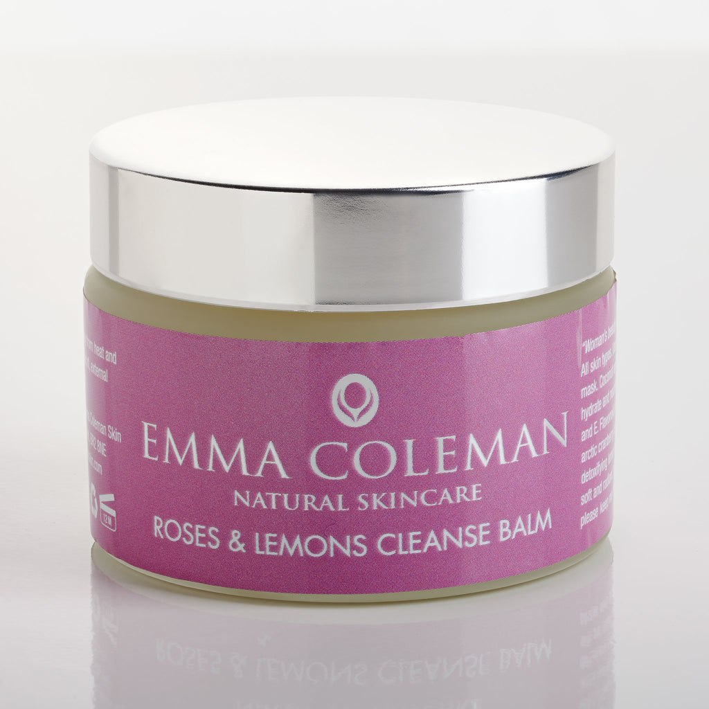Roses and Lemons Cleanse Balm.