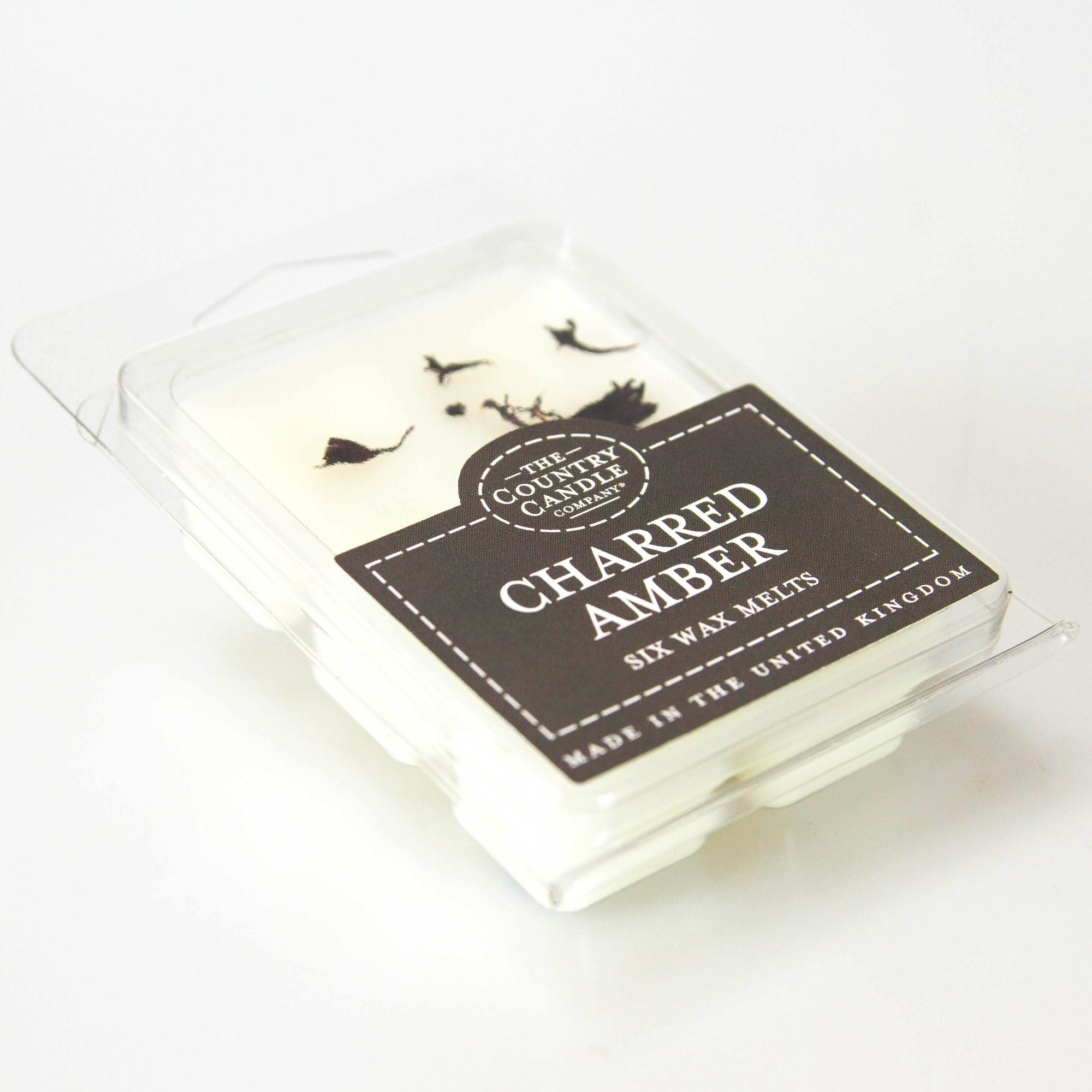 The Country Candle Co. Six Charred Amber Wax Melts