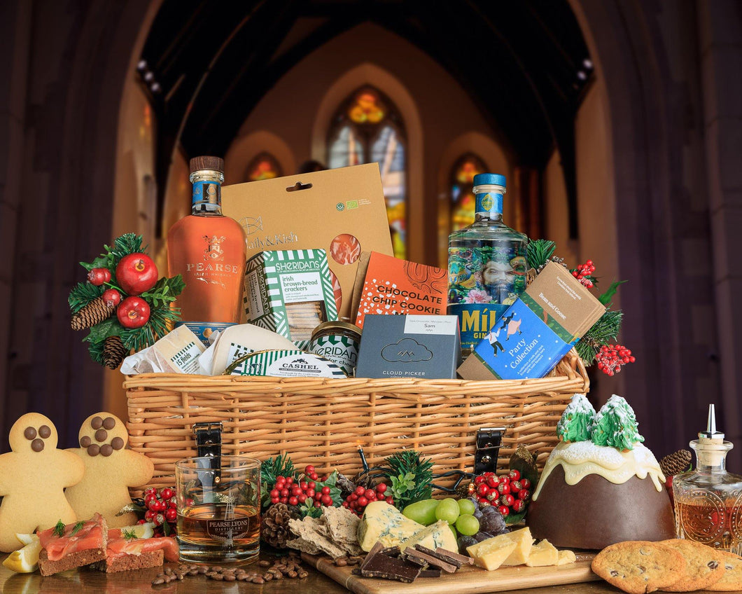 Gold Irish Artisan Hamper - Pearse Lyons Distillery