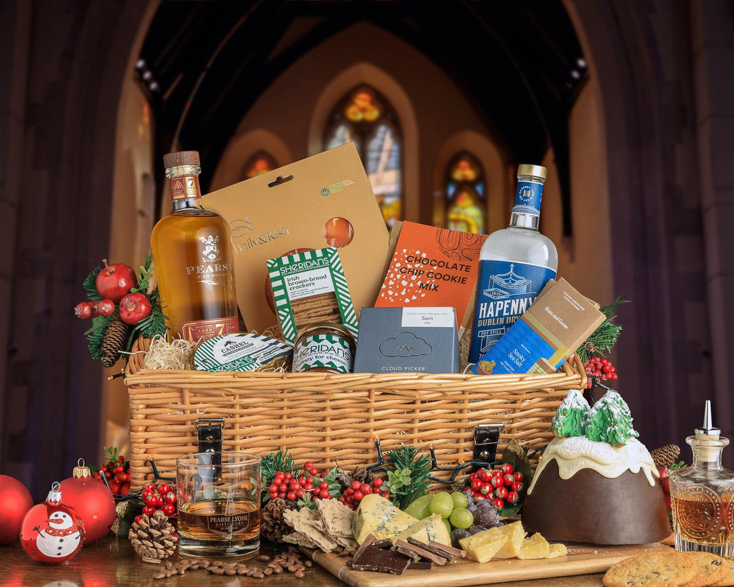 Bronze Irish Artisan Hamper - Pearse Lyons Distillery