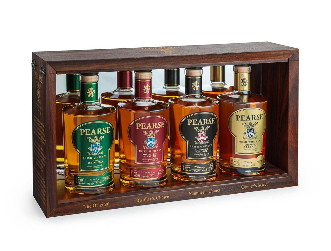 Pearse Irish Whiskey Batch #001 Signature Collection Box Set