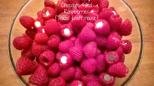 Delicious Chocolate Filled Raspberries