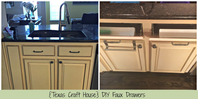 Installing Your Own Faux Drawers