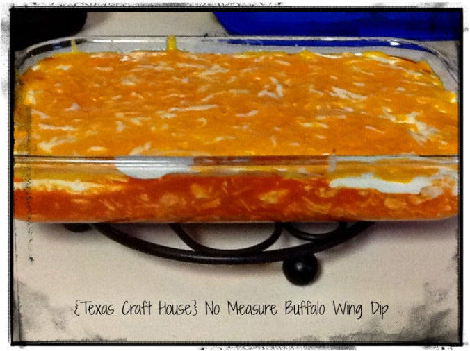 Amazing- No Measure Buffalo Wing Dip!!