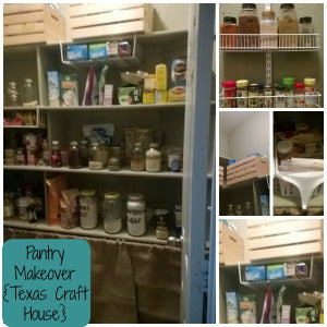 Messy Pantry Makeover