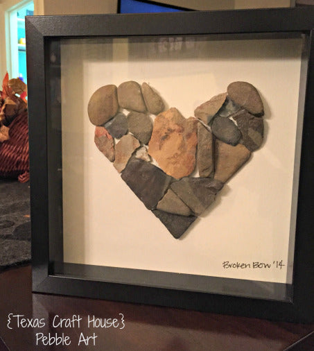 DIY Pebble Art
