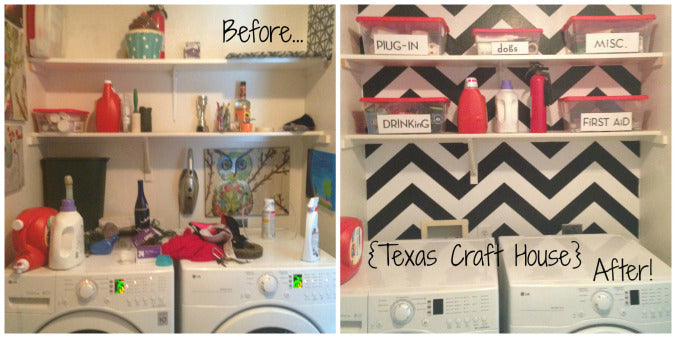 Laundry Room Transformation