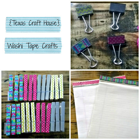Easy Washi Tape Crafts