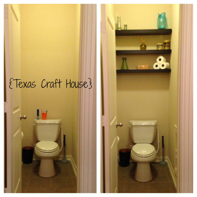 Master Bath Toilet Room Makeover