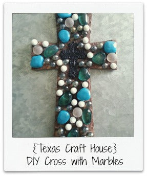 Cross with Marbles