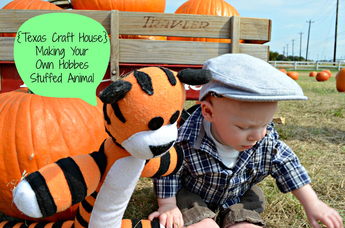 Make Your Own Hobbes Stuffed Animal