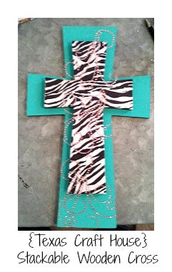 Stackable Wooden Crosses