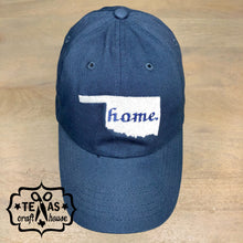 Load image into Gallery viewer, Home State Monogram Baseball Hat