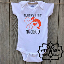 Load image into Gallery viewer, Mommy's Little Mudbug Bodysuit