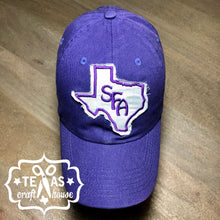 Load image into Gallery viewer, Stephen F. Austin U Inspired Monogram Patch Baseball Hats