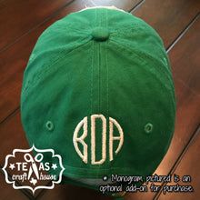 Load image into Gallery viewer, A&M Inspired Monogram Patch Baseball Hats